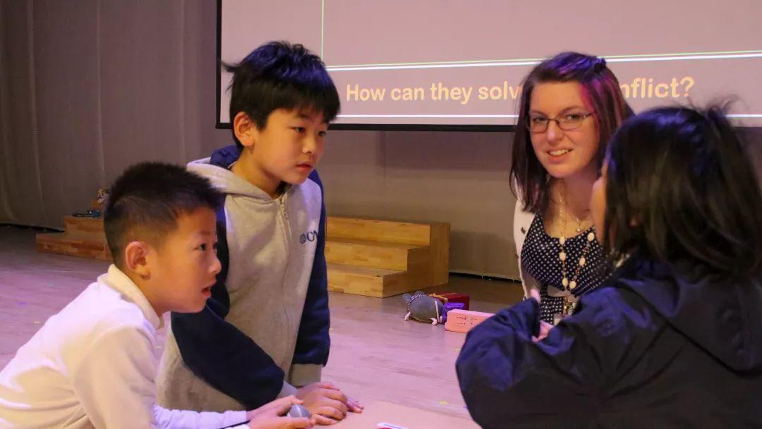 海归小学部Assembly   做一个积极的思考者插图2