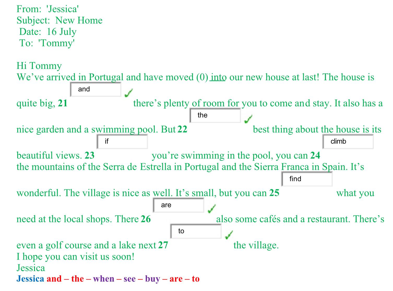苏州德威机考英语应用填空部分真题插图2